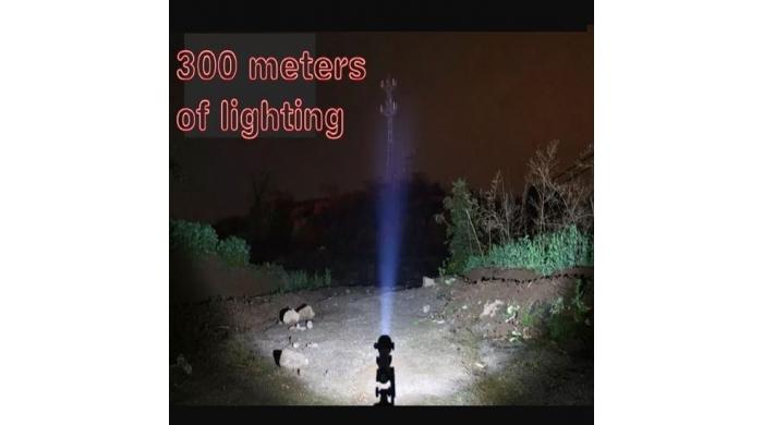 Đèn Pin Tự Vệ Siêu Sáng 301