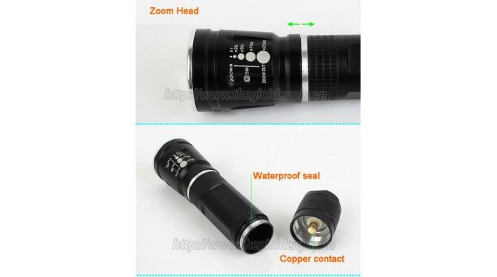 Đèn Pin Siêu Sáng Cree Mini SS-8022