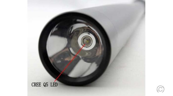 Đèn Pin Tự Vệ Siêu Sáng Gậy Bóng Chày