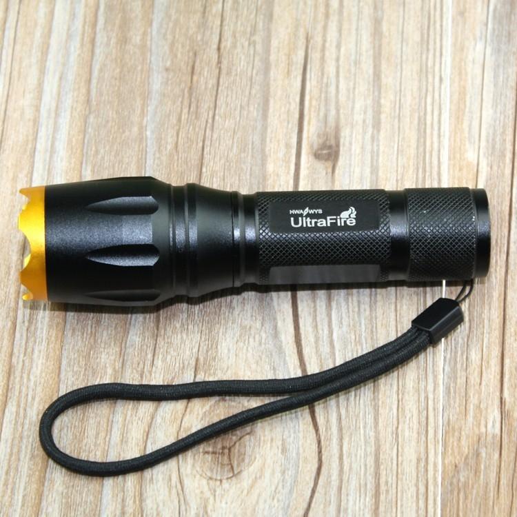 Đèn Pin Siêu Sáng Ultrafire XML T6 E7