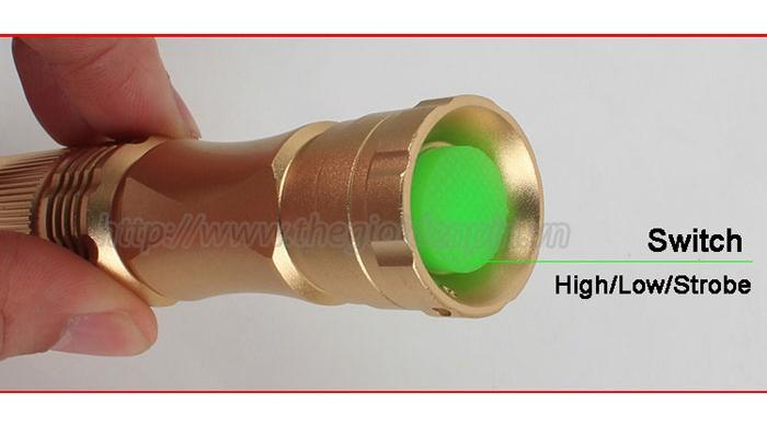 Đèn Pin Siêu Sáng Cree Mini RB-256`