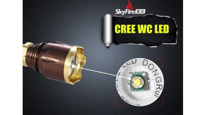 Đèn Pin Siêu Sáng Cree Led SK-9270