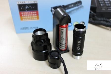 DEAL Đèn pin siêu sáng UltraFire C8
